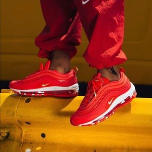 ✔️ NIB✔️ NIKE Air Max 97 SE 'Red Orbit' ~ 6